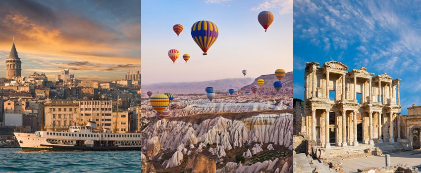 popular tourist destinations in Turkey